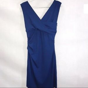 Diane Von Furstenberg blue bodycon Dress